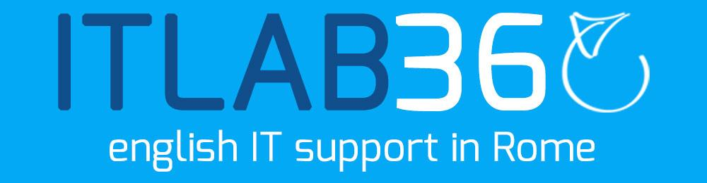 itlab360 english speaking IT Support in Rome